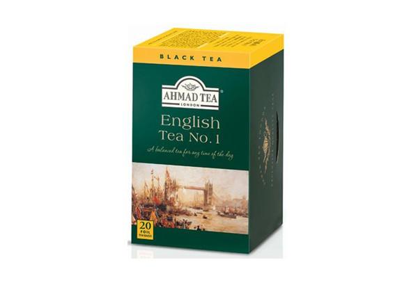 AhmadTea(Aromatisierter)- English Tea 40er tb No. 1