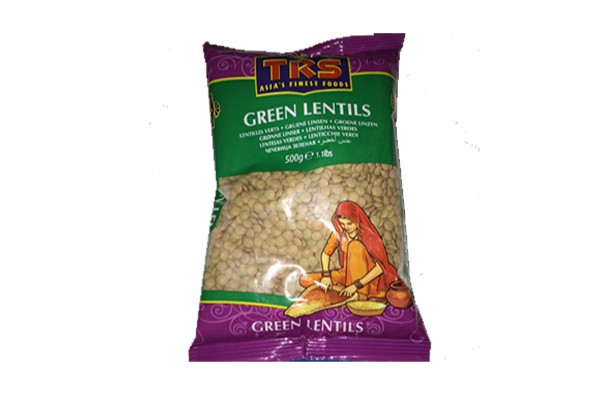 TRS Green Lentins 500g