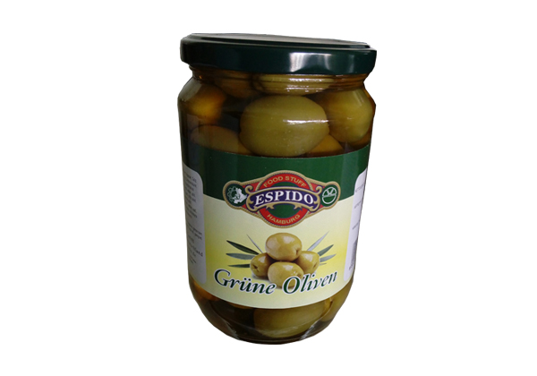 Grüne Oliven Mit Stein shishe